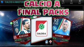 FIFA Mobile CALCIO A PACKS !! 2 × 89+ PULLS !! Final Calcio A Masters Pack Opening Ever