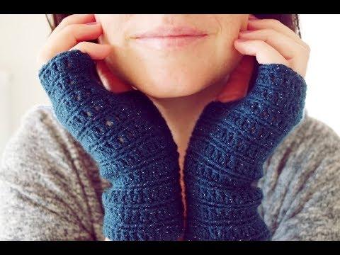 Mitaines Chic Super Faciles Au Crochet