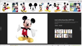 Vectorizing Mickey Mouse Artwork