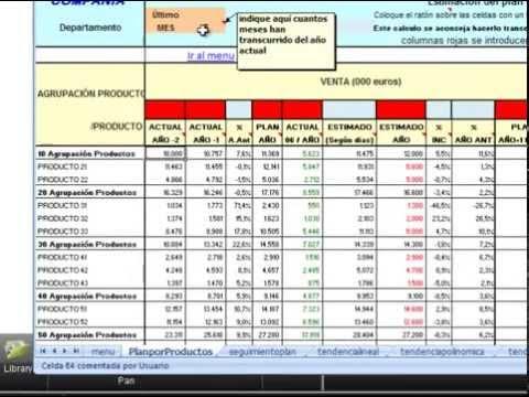 Planes De Venta Plantilla Excel Descarga Gratis