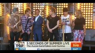 Download 5SOS - Don't Stop (Live on Sunrise) MP3 song and Music Video