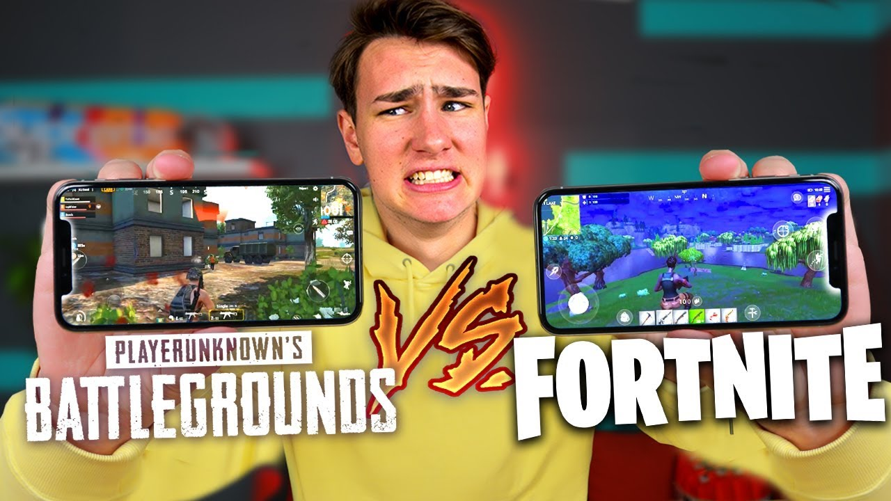 Fortnite Is Better Than Pubg On An Iphone X Youtube