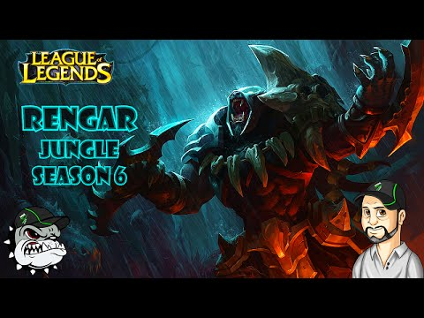 Gato que Mia Morde! League Of Legends - Pede Que Eu Faço Rengar Jungle [PT-BR]