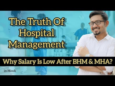 TRUTH OF HOSPITAL MANAGEMENT DEGREE #BHM #MBA#MHA #MHM