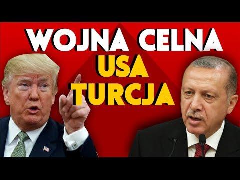 Wojna celna USA Turcja. Kowalski & Chojecki NA ŻYWO w IPP TV 13.08.2018