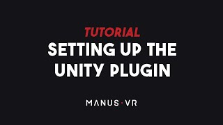 TUTORIAL - Setting up the Unity Plugin for Apollo