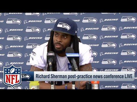 Richard Sherman Calls Out Media for