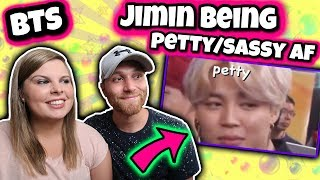 Gambar cover BTS Jimin being petty/sassy af Reaction