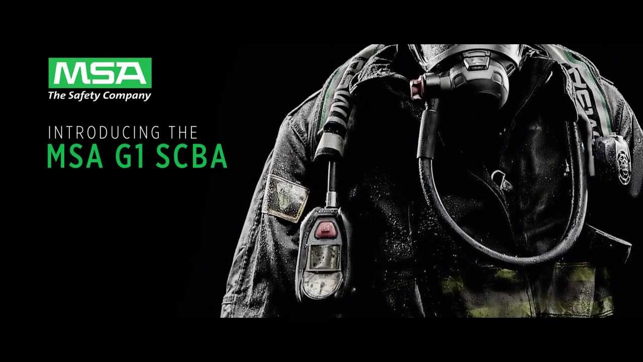 msa g1 scba youtube rh youtube com Drager Self-Contained Breathing Apparatus North Self-Contained Breathing Apparatus