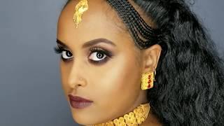Eritrean Wedding Inspired Make up look 2