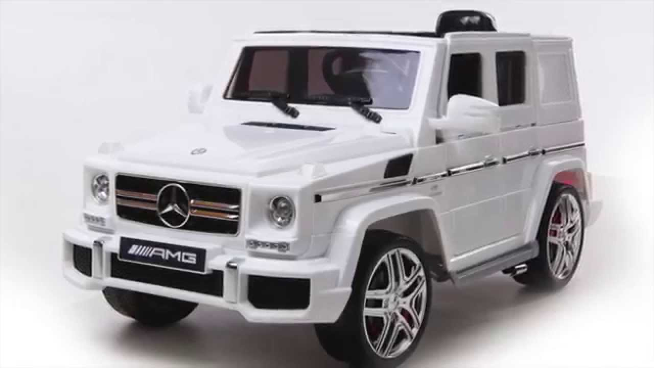 Coming Kids Jip.Kids 12v Licensed Mercedes Gl Ride On Jeep Youtube