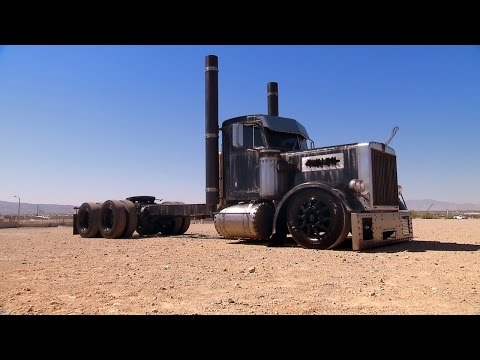 See How An Underground Gas Pipeline Made Its Way Into This Sweet Big Rig Build