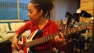 Give Love on Christmas Day - Jackson 5 (Bass Cover)