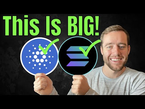 Whales Are Buying SOLANA, CARDANO And THIS In INSANE Amounts Right Now!