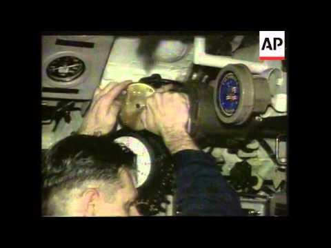 ADRIATIC SEA: ON BOARD USS GONZALEZ & USS NORFOLK