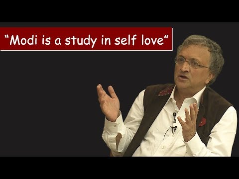 Modi is a study in self love, Ram Guha at The Wire Dialogues