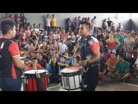 Batalha de Percussão Ritmo total- 2 fase Duelo de Caixas/Snare Drums