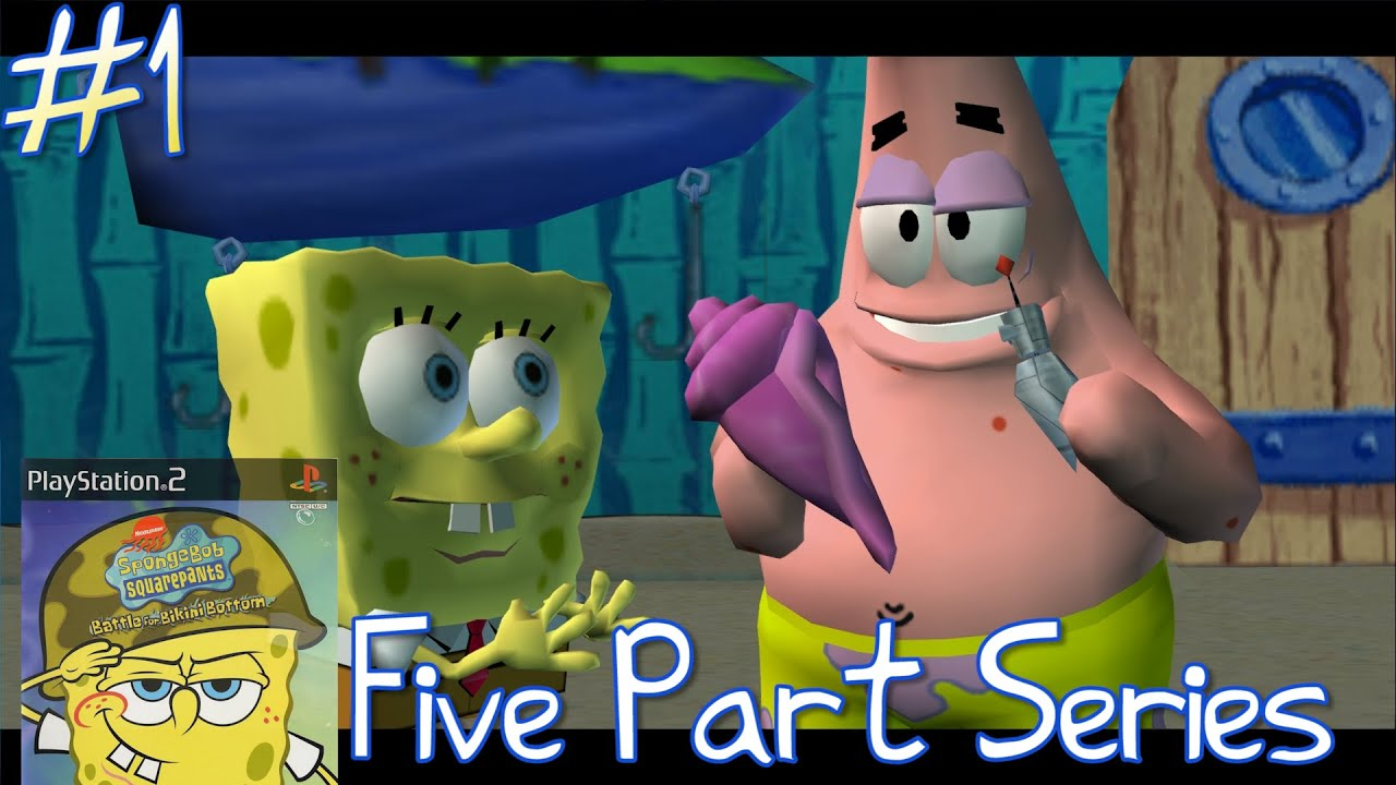 spongebob squarepants battle for bikini bottom gamefaqs