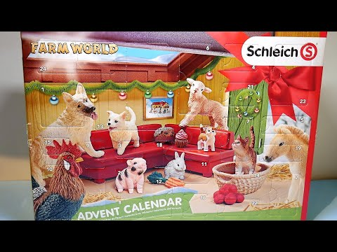 Schleich Farm World Advent Calendar 2018 Opening | Schleich 97700