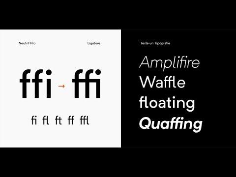 Neutrif Pro™ font download