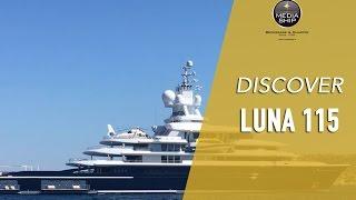 LUNA 115 Super Yacht di lusso