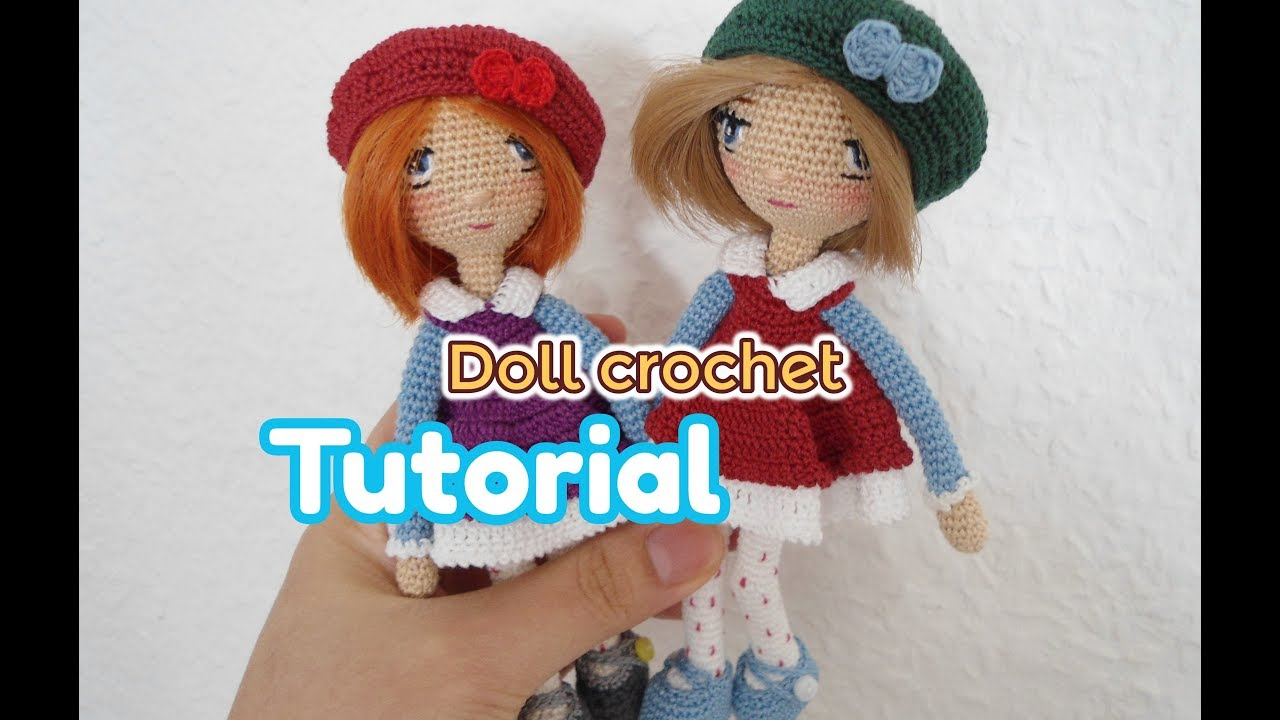 2019 Best Amigurumi Doll Patterns Part 1. Crochet toy girl design ... | 720x1280