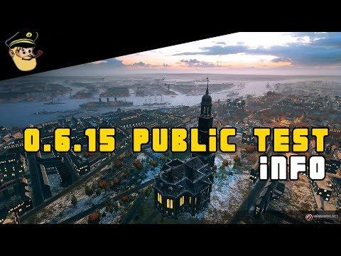 NEWS 0.6.15 Public Test - World of Warships