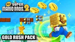 New Super Mario Bros. 2 Coin Rush Mode DLC - Gold Rush Pack