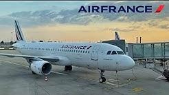 Air France Airbus A321, Bordeaux-Merignac to Paris [FULL FLIGHT REPORT]