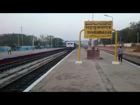 Chengalpattu-Kacheguda Express with GY WDP-4D 40135