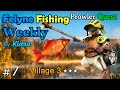 MHGU Prowler Quest Chapter 7 Village 3 ★★★ FELYNE FISHING WEEKLY Gather Mission Gameplay