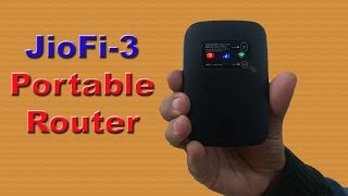 JioFi 3: Make voice & video calls  Save data wirelessly on SD card
