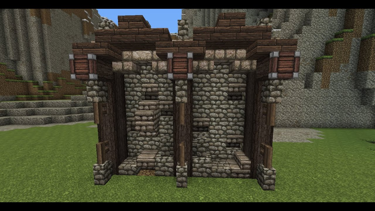 minecraft wall designs.