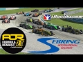 iRacing AOR Formula Renault 2.0 Championship onboard with commentary - Round 12 - Sebring