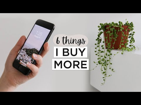 6 Things I Buy MORE As A MINIMALIST