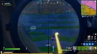Mi mejor tiro con sniper | Fortnite 2