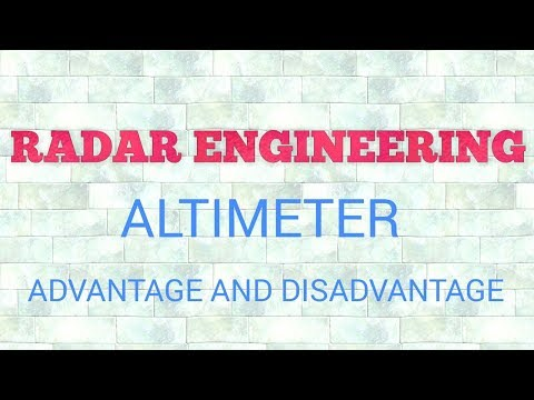 FMCW altimeter , advantages and disadvantages of FMCW radar explanation 2