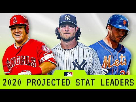 2020 Projected MLB Stat Leaders!