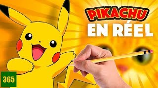 HOW WOULD PIKACHU BE IN REAL LIFE - Pikachu in REAL LIFE - ART CHALLENGE