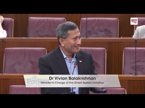 Minister Vivian Balakrishnan's Speech on Singapore's Smart N