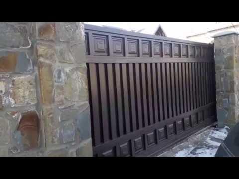 Відкатні  ворота Portall модель Choco Plus