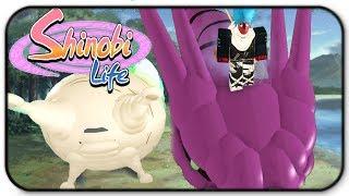 Roblox shinobi Life-modo sábio Slug e modo sábio dragão atualizado