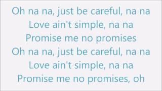 Cheat Codes ft. Demi Lovato - No Promises Piano Instrumental (Lower Key)