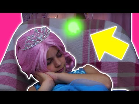 MALICE MAKES NIGHTMARES 🌚 Magical Princess Dreams! - Princesses In Real Life | Kiddyzuzaa