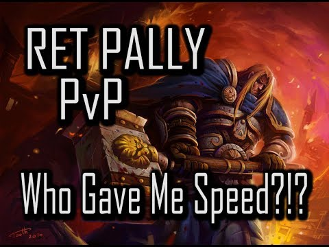 SOMEONE GAVE ME SPEED!!!!| 7.3.5 RET PALADIN PvP | WoW Legion