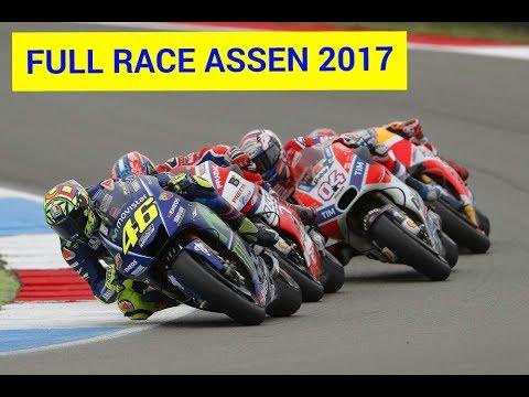 FULL RACE MOTOGP ASSEN BELANDA 2017~ rossi petruci marquez