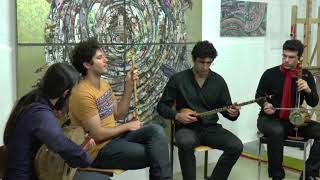 Persian traditional music / BARBAT  ENSEMBLE  / Concert in Atelier 30 Cologne