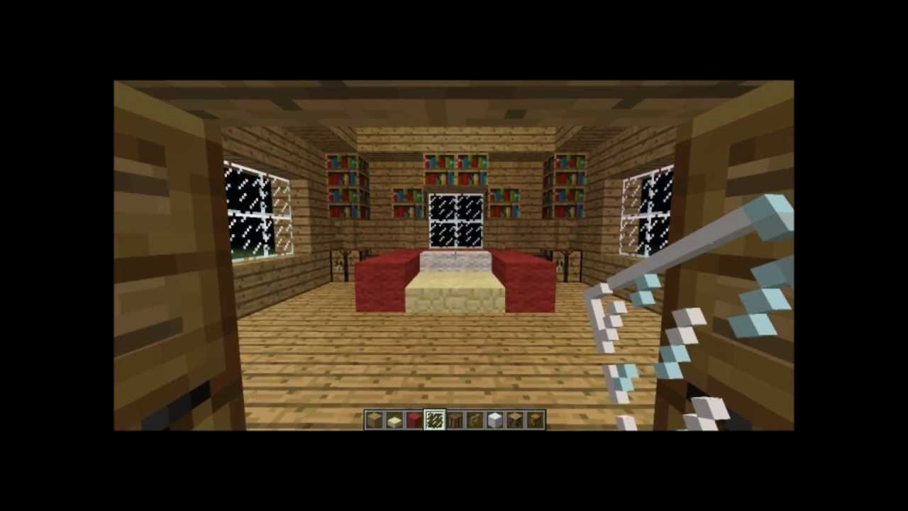 Minecraft How To Make A Kingbed Decoration For Bedroom