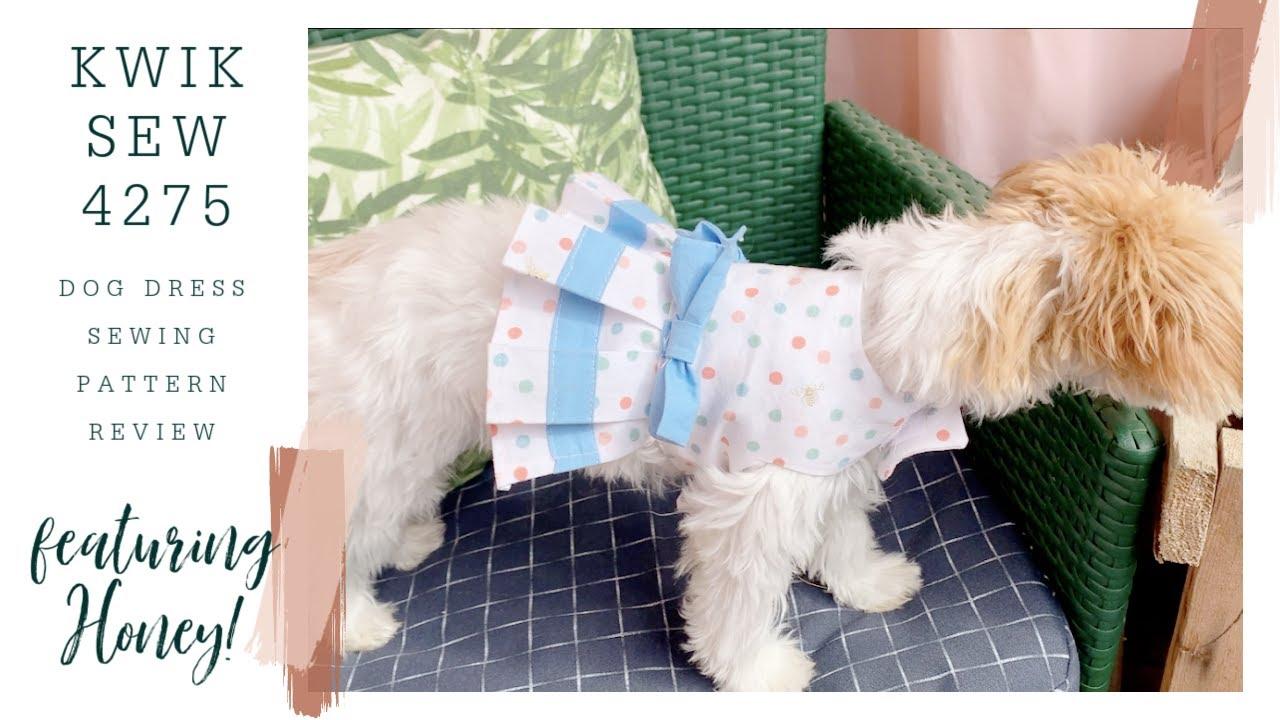 Kwik Sew 4275 Dog Dress Sewing Pattern Review
