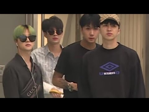 IKON, BTS AND VIXX ARRIVAL IN TAIPEI FOR SBS SUPER CONCERT 180706